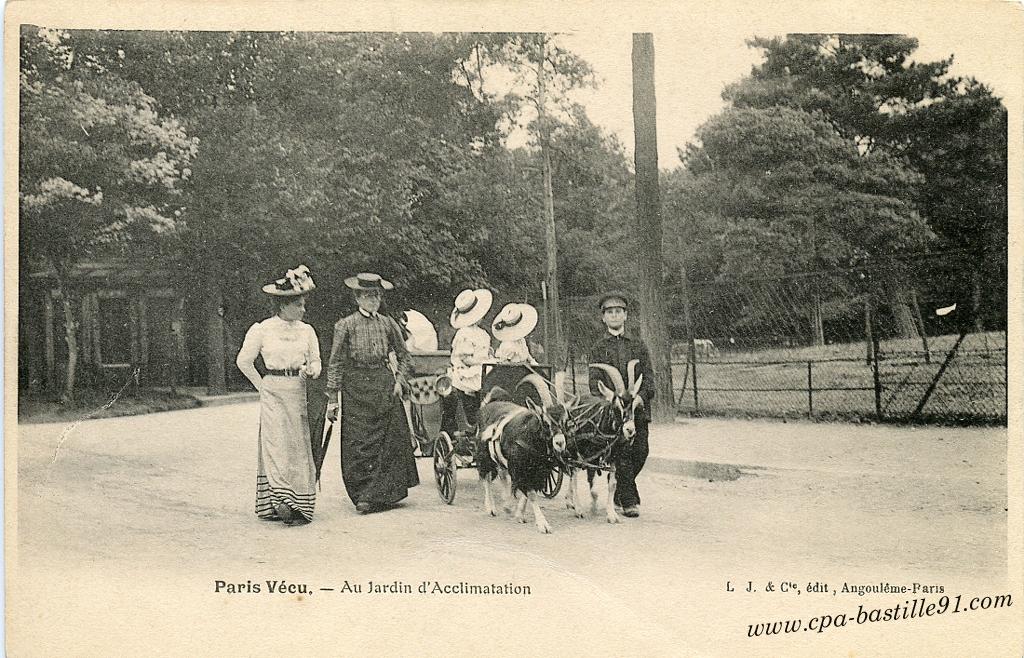 Jardin cartes postales anciennes page 4 for Au jardin d acclimatation