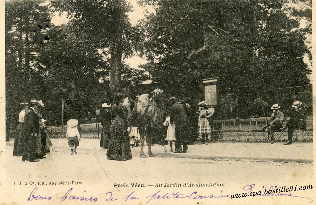 Jardin cartes postales anciennes page 5 for Au jardin d acclimatation