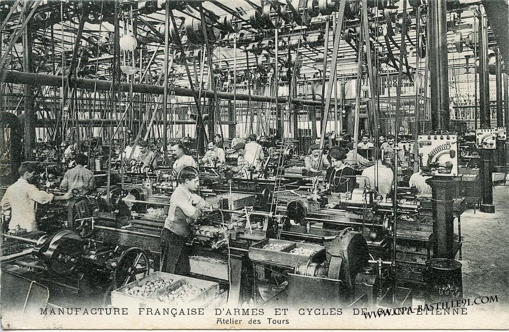 Manufacture fran aise d armes et cycles de saint tienne cartes postales an - La manufacture saint etienne ...