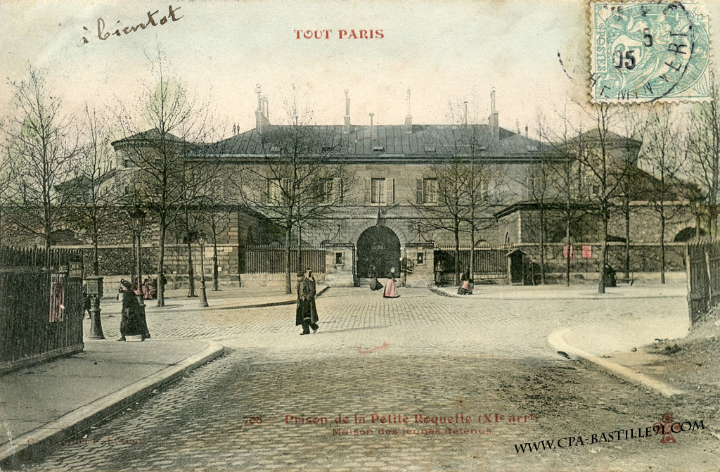 bastille prison paris location
