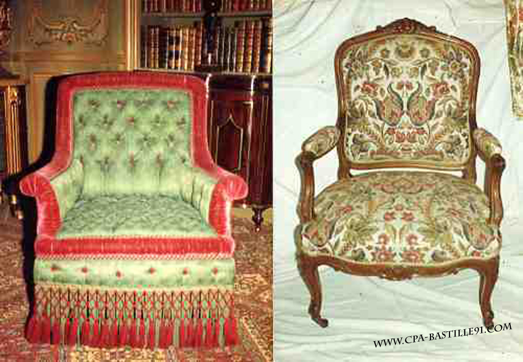 ameublement cartes postales anciennes. Black Bedroom Furniture Sets. Home Design Ideas