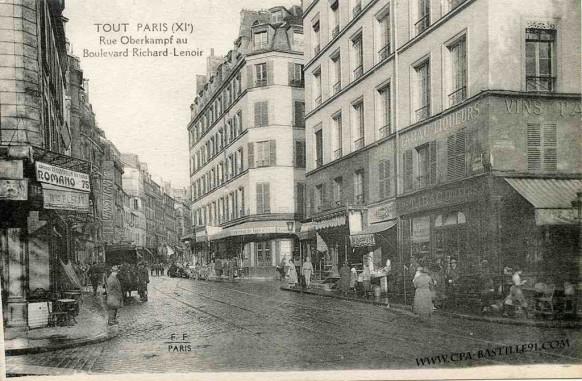 Tout paris rue oberkampf au boulevard richard lenoir for 4 rue richard lenoir
