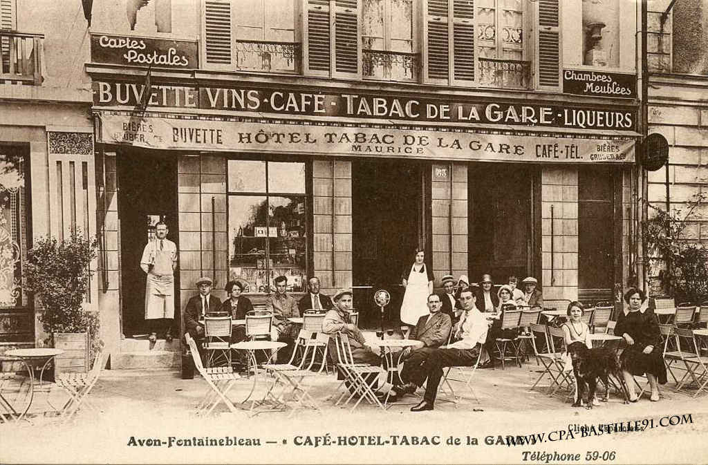 Cafe Restaurant Fontainebleau