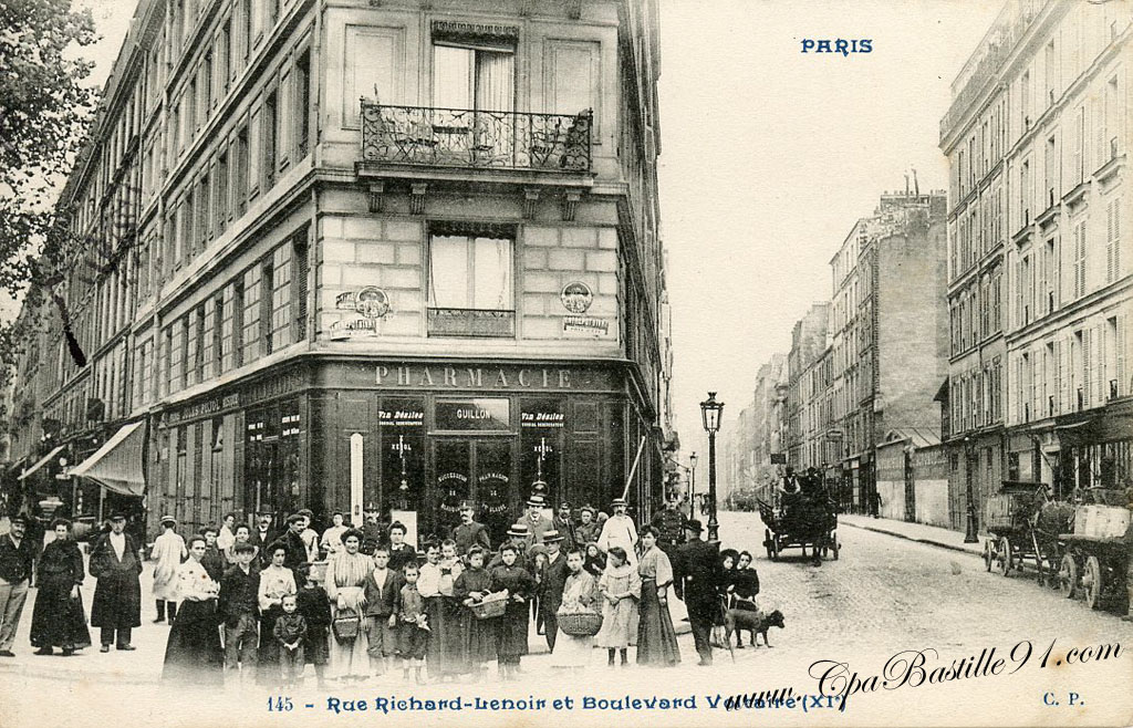 Richard lenoir cartes postales anciennes for Hotel boulevard richard lenoir paris