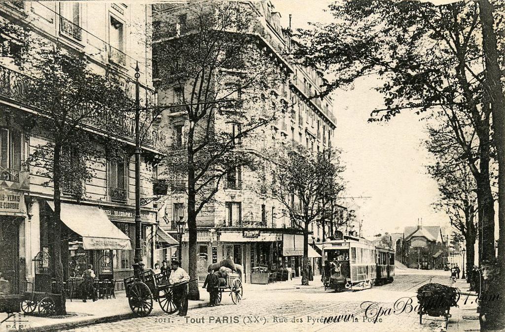 Cafe Tabac Rue Des Pyrenees Paris