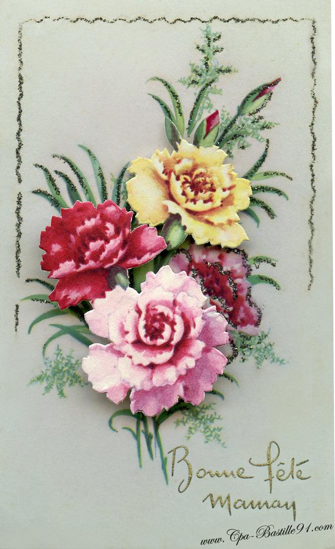 Carte syst me cartes postales anciennes - Image de carte de fete ...