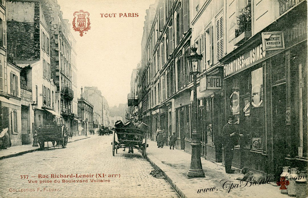Richard lenoir cartes postales anciennes for 4 rue richard lenoir
