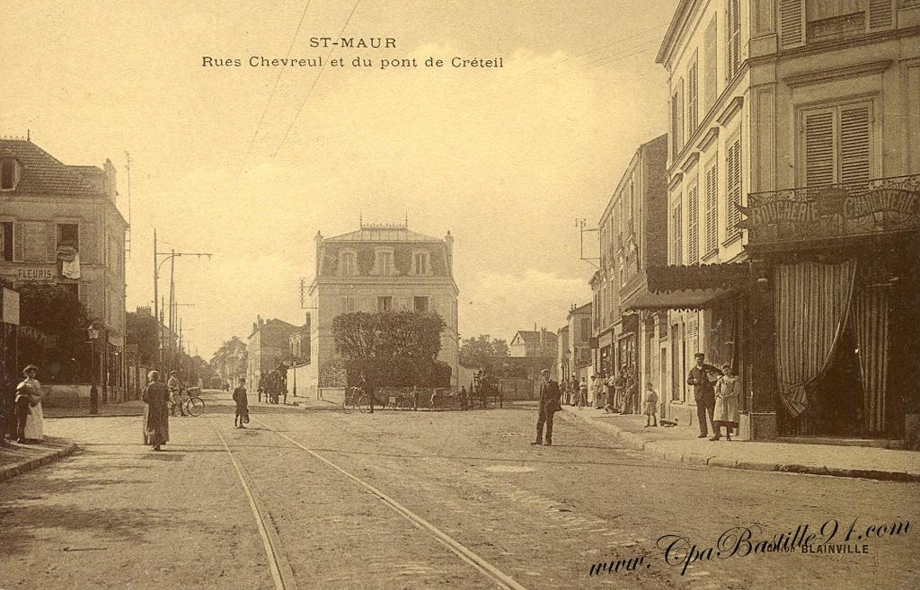 D hier aujourd hui cartes postales de saint maur en 1900 cartes postales anciennes for Comboulevard de creteil saint maur