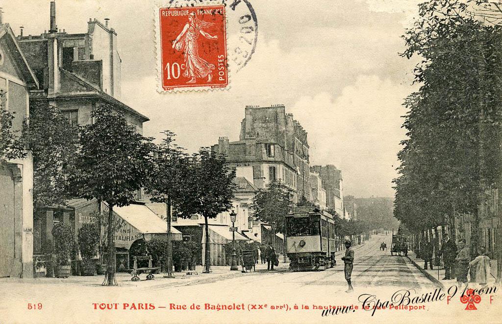 Code postal porte de bagnolet for Porte de montreuil code postal