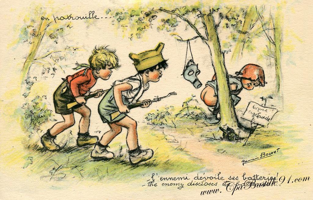 Germaine Bouret Cartes Postales Anciennes