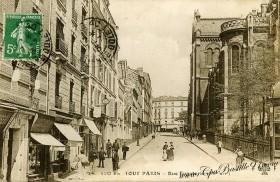 Glise notre dame de la croix cartes postales anciennes - La quincaillerie paris 10 ...