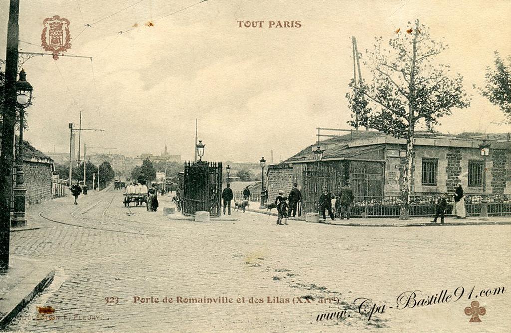 Tout paris tramway porte de romainville et des lilas en for La poste porte de saint cloud