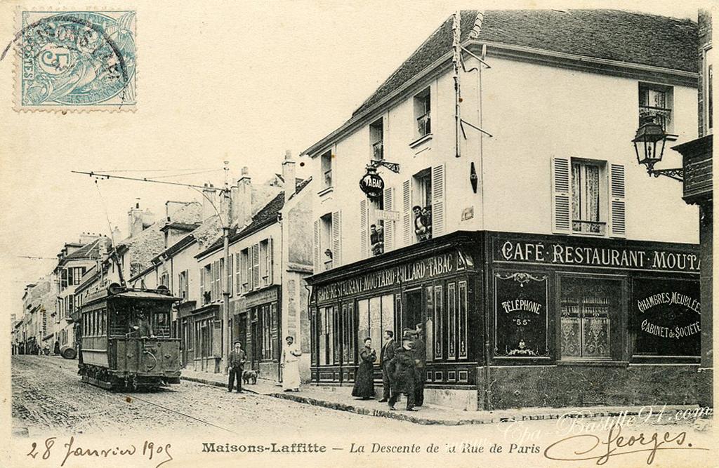 Maisons laffitte cartes postales anciennes for Photos maisons anciennes