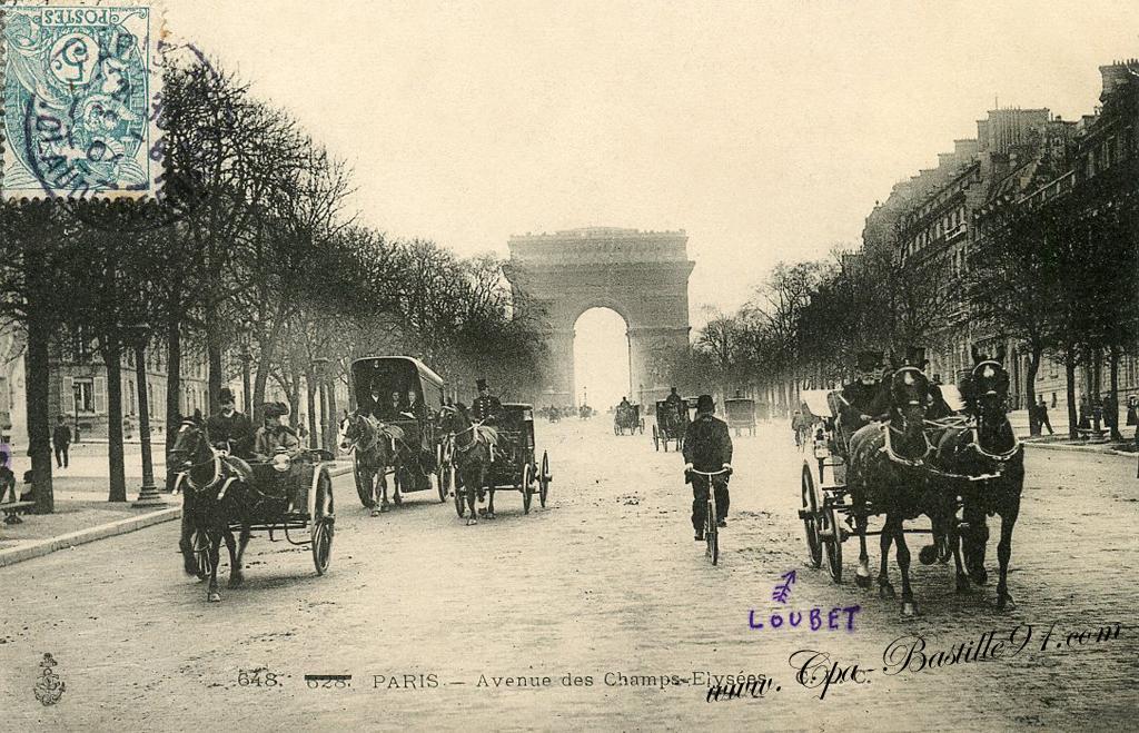 Champs Élysées - Cliquez sur la carte pour l'agrandir et en voir tous les détails