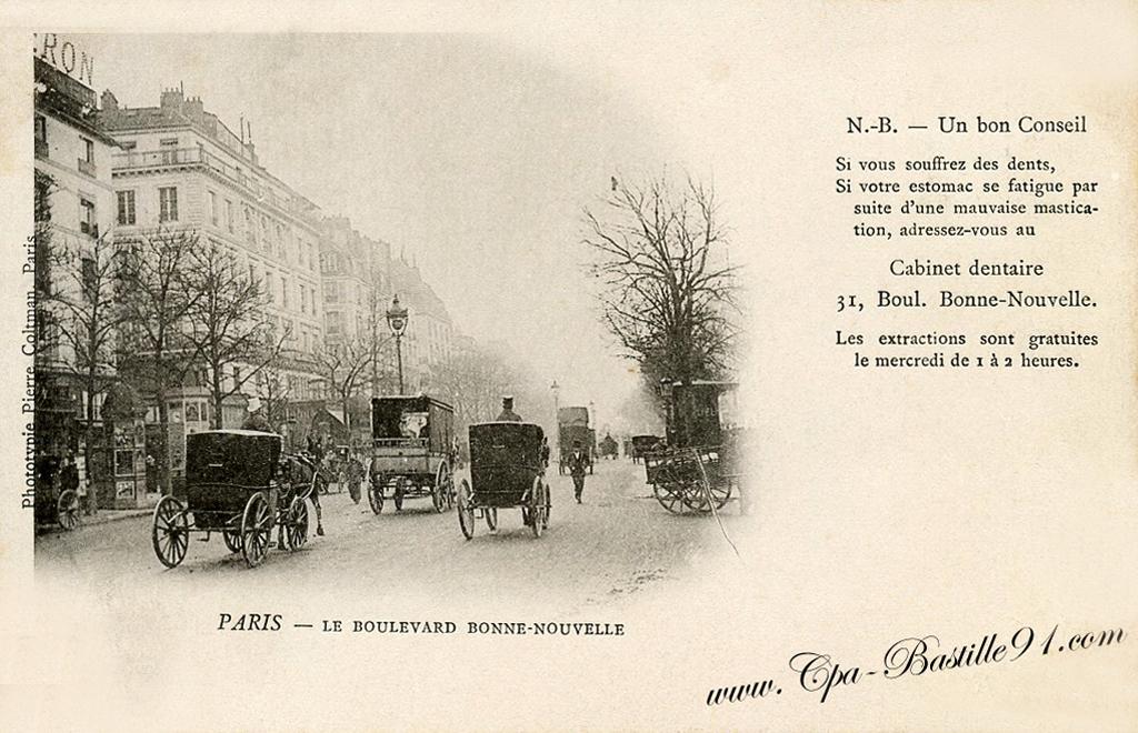 Carte Postale Les Extractions De Dents Sont Gratuites Cartes Postales Anciennes