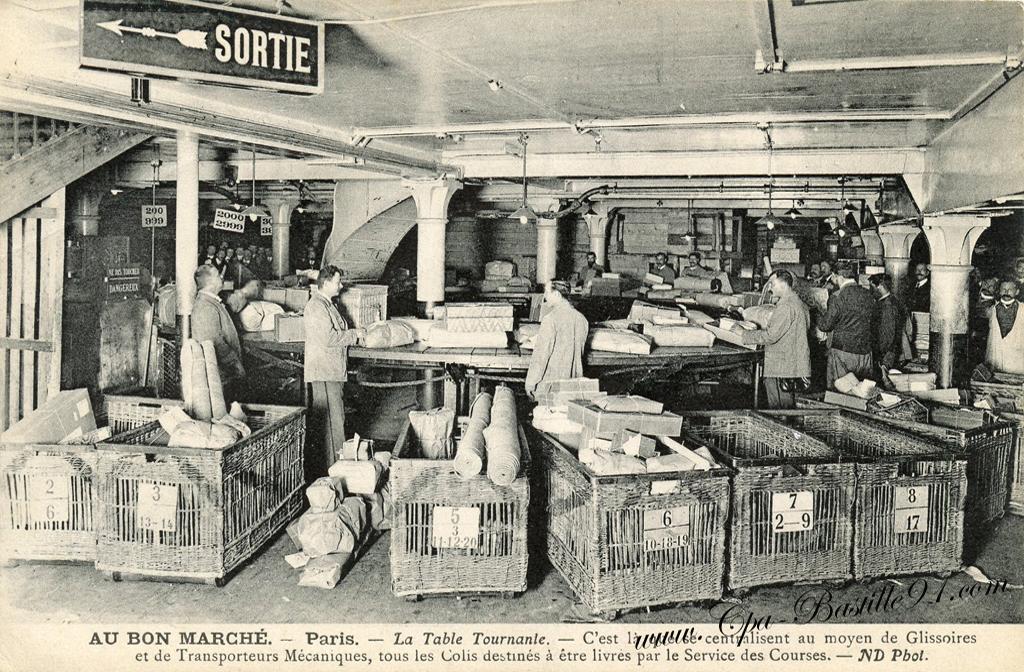 bastille merch table