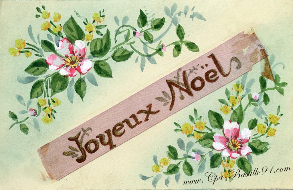Joyeux no l 2012 avec cette carte postale ancienne cartes postales anciennes - Cartes de noel anciennes ...