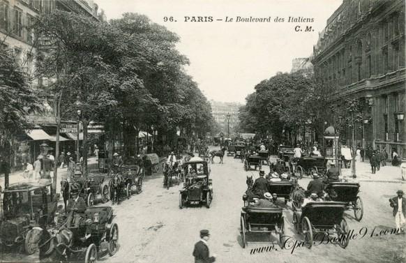 09arrt-boulevard des italiens-les fiacres de Paris - Cliquez sur la carte pour l'agrandir et en voir tous les détails
