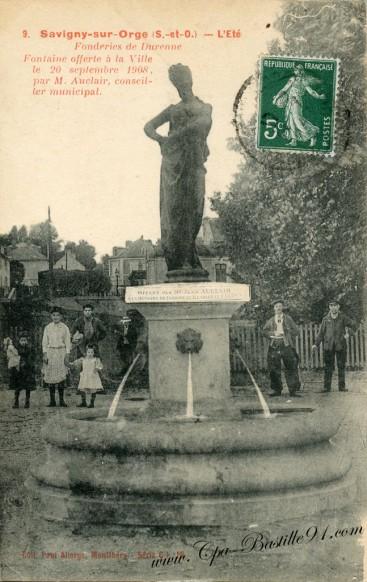91-Savigny-la fontaine l'été-offert par Monsieur Auclair -  sur la carte pour l'agrandir et en voir tous les détails