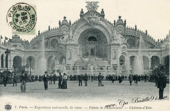 Palais de l'électricité - exposition universelle de 1900Cliquez sur la carte pour l'agrandir et en voir tous les détails