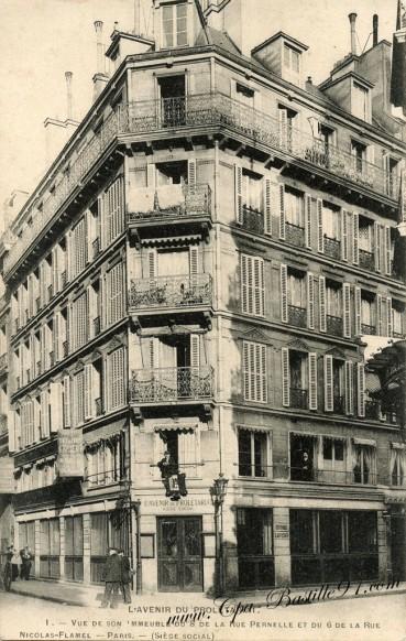 04arrt-l'Avenir du Prolétariat-rue Pernelle - Cliquez sur la carte pour l'agrandir et en voir tous les détails