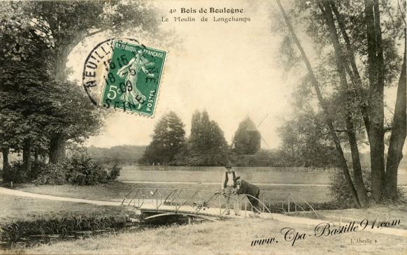 Bois de boulogne-Moulin de Longchamps - Cliquez sur la carte pour l'agrandir et en voir tous les détails