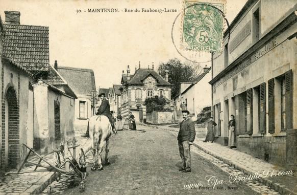 28-Maintenon-Rue du Faubourg-Larue - Cliquez sur la carte pour l'agrandir et en voir tous les détails