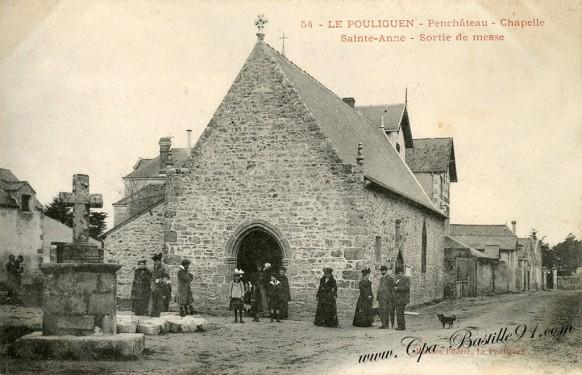 44-Le Pouliguen-Penchâteau-Chapelle Sainte-Anne- Cliquez  sur la carte pour l'agrandir et en voir tous les détails