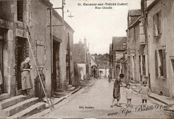 45-Ouzouer sur Trézée-Rue-Chaude - Cliquez sur la carte pour l'agrandir et en voir tous les détails