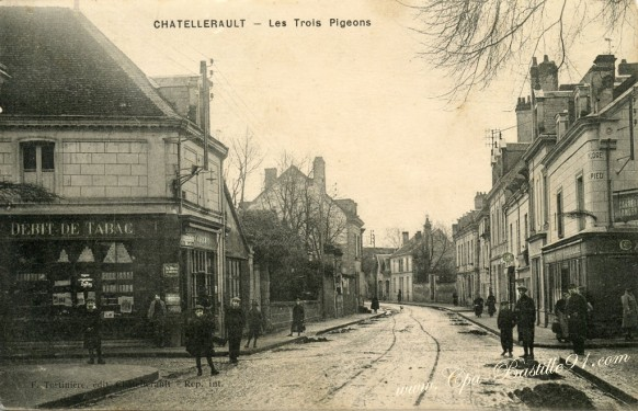 Chatellerault cartes postales anciennes - Bureau change bastille ...