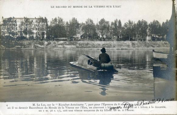 Mr Le LAS-Record du monde de la vitesse sur l'eau -  Cliquez sur la carte pour l'agrandir et en voir tous les détails