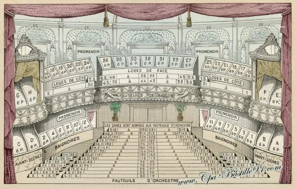 Plan du Théâtre Marigny - Cliquez sur la carte pour l'agrandir et en voir tous les détails