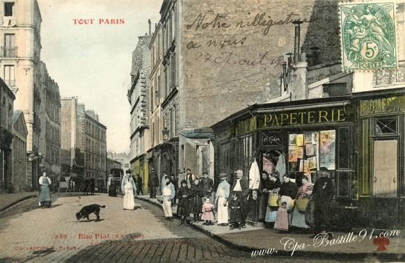 Tout Paris - Rue Piat - Cliquez sur la carte pour l'agrandir et en voir tous les détails