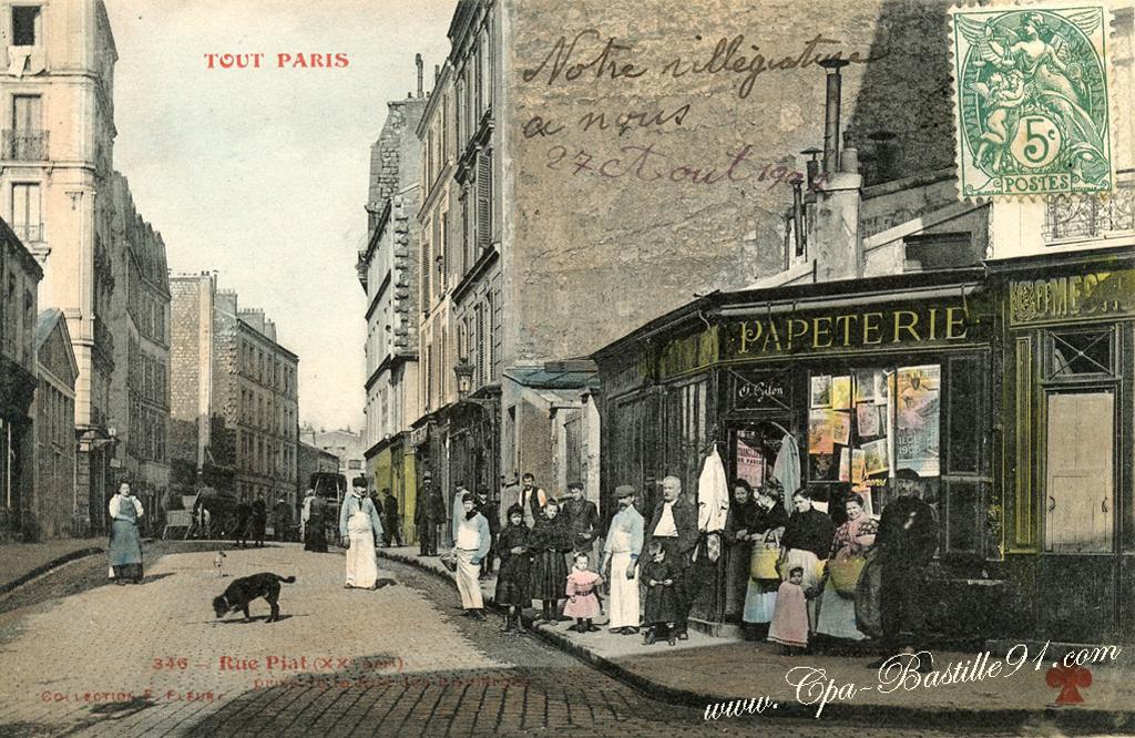 Rue Des Envierges Cartes Postales Anciennes
