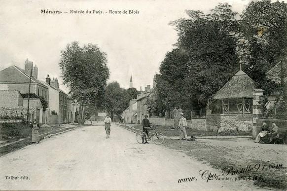 41-Ménars-Entrée du Pays-Route de Blois - Cliquez sur la carte pour l'agrandir et en voir tous les détails