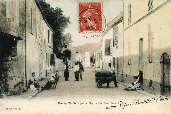 77-Bussy saint-Georges-Route de Ferrières - Cliquez sur la carte pour l'agrandir et en voir tous les détails