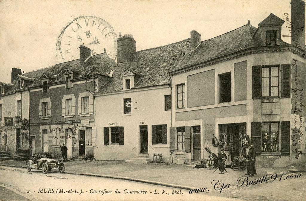 charcuterie cartes postales anciennes