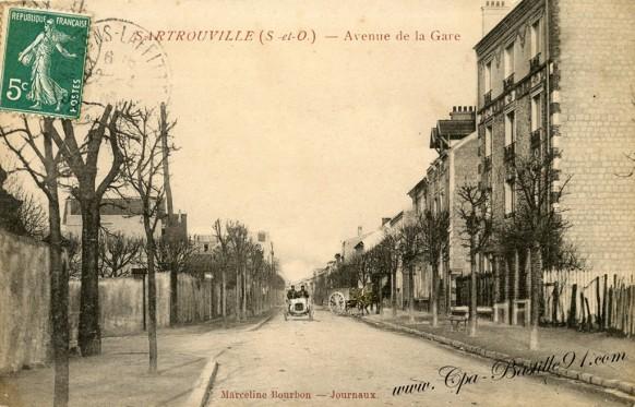 78-Sartrouville-l'avenue-de-la-gare - Cliquez sur la carte pour l'agrandir et en voir tous les détails