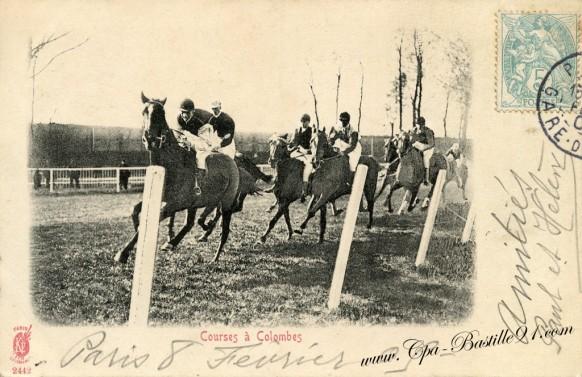 92-Courses-a-Colombes-chevaux - Cliquez sur la carte pour l'agrandir et en voir tous les détails