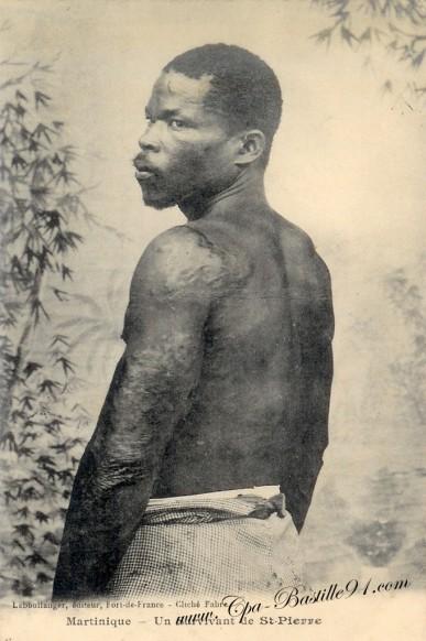 Martinique - Un survivant de St Pierre-éditeur Leboullanger - Cliquez sur la carte pour l'agrandir et en voir tous les détails