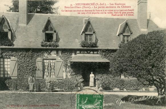 Neufmarché- les environ Bouchevilliers- La Partie Ancienne du Château - Cliquez sur la carte pour l'agrandir et en voir tous les détails