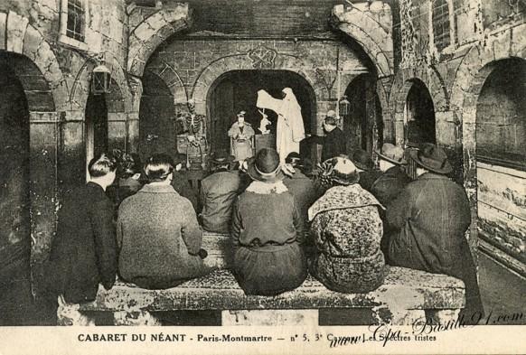 Cabaret du Néant - Paris Montmartre - Cliquez sur l'image pour l'agrandir