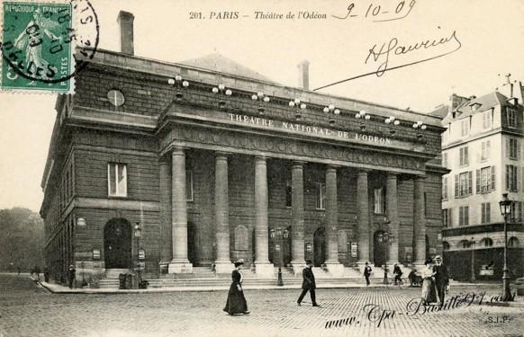 06arrt-Paris -Théâtre de l'Odéon - Cliquez sur la carte pour l'agrandir et en voir tous les détails