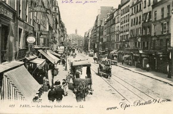 12arrt-Paris-Faubourg-saint-Antoine-édteur levy - Cliquez sur la carte pour l'agrandir et en voir tous les détails
