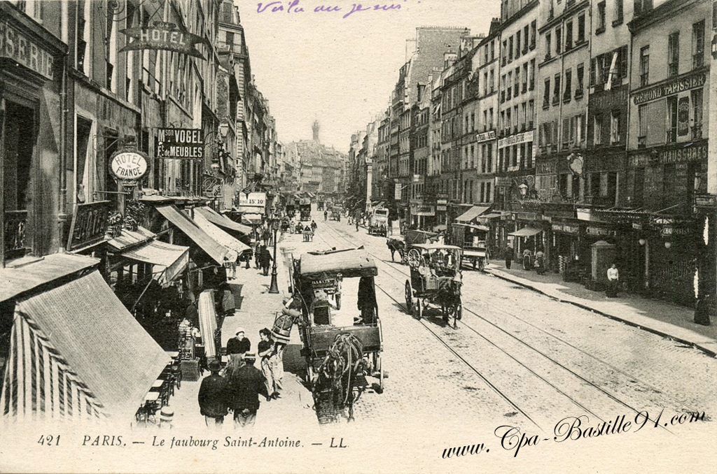Faubourg  Cartes Postales Anciennes