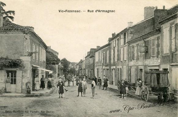 32-Vic-Fezensac-Rue d'armagnac - Cliquez sur la carte pour l'agrandir et en voir tous les détails