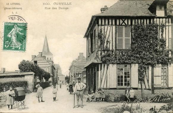 76-Ourville-Rue-des-dames - Cliquez sur la carte pour l'agrandir et en voir tous les détails