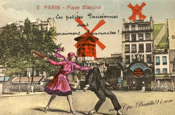 Les petites Parisiennes Paris-Place-Blanche - Cliquez sur la carte pour l'agrandir et en voir tous les détails