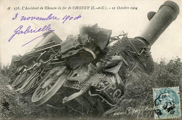 41-l'accident de Chemin de Fer de Chouzy le 21 octobre 1904-1