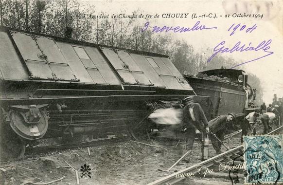 41-l'accident de Chemin de Fer de Chouzy le 21 octobre 1904-2